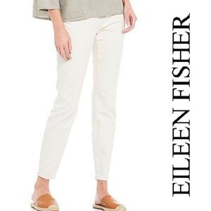 Eileen Fisher Ankle Length Organic Cotton Jeggings